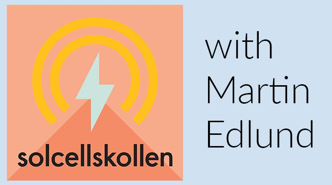 Minesto's CEO Martin Edlund guests Swedish podcast Solcellskollen, a programme on renewable energy and future energy systems