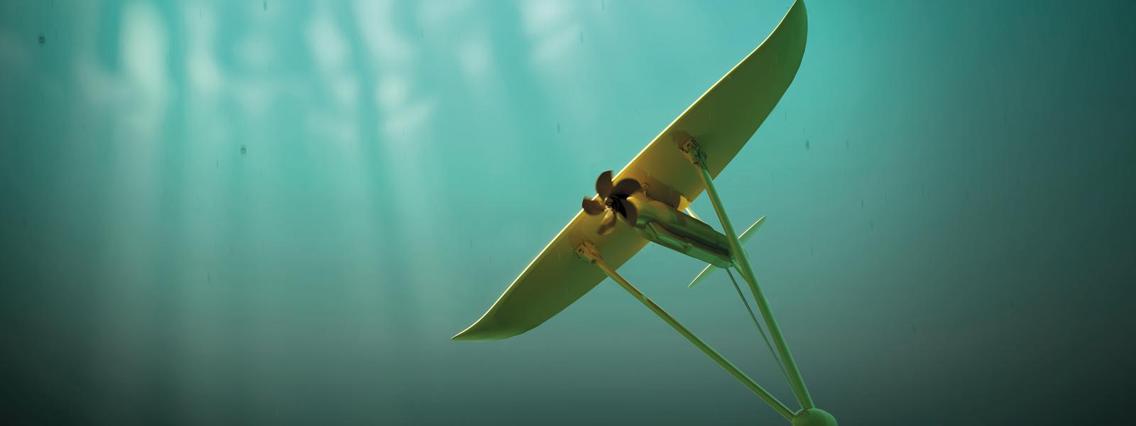 Minesto's Deep Green subsea tidal kite