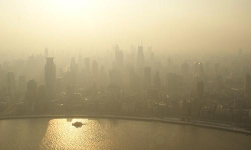 Picture of smog over an Asian capital