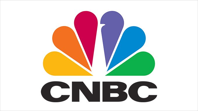 CNBC's logotype. Copyright: CNBC