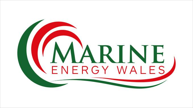 Logotype of Marine Energy Wales. Photo: Marine Energy Wales