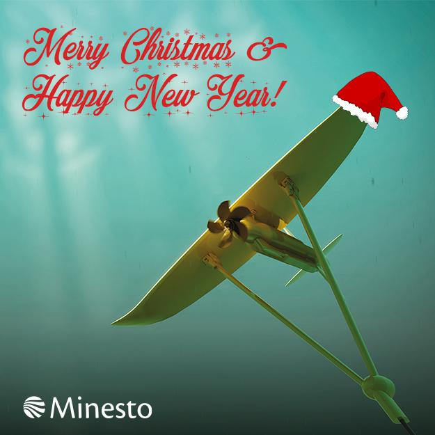 Minesto Season's Greetings card 2016